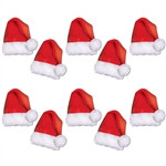 Mini Santa Hat Cutouts (10/Pkg)