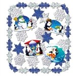 Let It Snow Metallic Decorating Kit