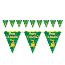 Happy St. Patrick's Day Pennant Banner
