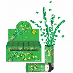 St Patricks Day Confetti Burst