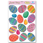 Color Bright Egg Window Clings (16/sheet)