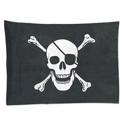 Our fabric Pirate Flag will let your guests know there's party treasure to be found!