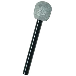 Glittered Microphone  - just the thing for your party diva