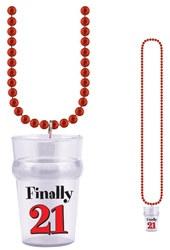 finally 21 shot glass beads