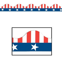 patriotic boarder trim