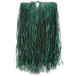 Value Raffia Hula Skirt (Extra Large Green)
