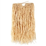 Deluxe Raffia Hula Skirt (Extra Large Natural)