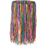 Deluxe Raffia Hula Skirt (Extra Large Multicolor)