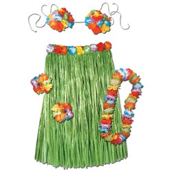 Complete Hula Outfit