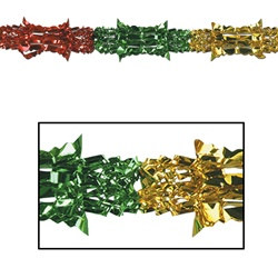 Multi-Color Metallic Garland