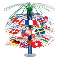 International Flag Centerpiece