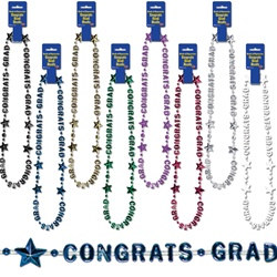 Congrats Grad Beads Of Expressioin (select color)