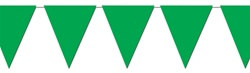 Green Indoor/Outdoor Pennant Banner, 12 f