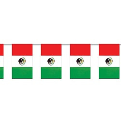 Outdoor Mexican Flag Banner
