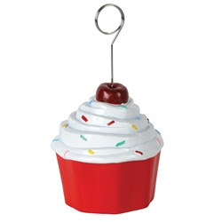 Cupcake Photo/Balloon Holder