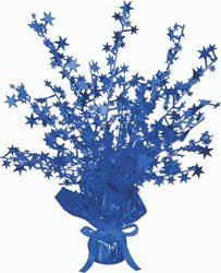 Blue Star Gleam N Burst Centerpiece