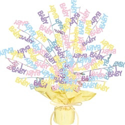 Baby Shower Gleam N Burst Centerpiece