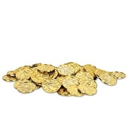Plastic Gold Coins - whether for decoration or as souvenirs, our coins are priceless!