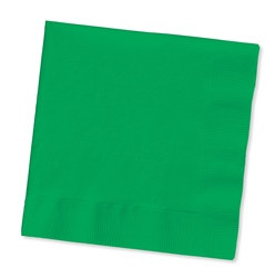Green Beverage Napkins (50/pkg)