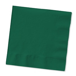 Hunter Green Beverage Napkins (50/pkg)