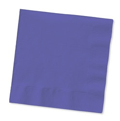 Purple Beverage Napkins (50/pkg)