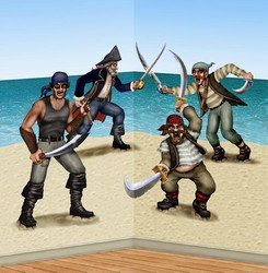 Dueling Pirate and Bandits