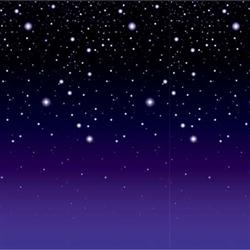 Starry Night Backdrop