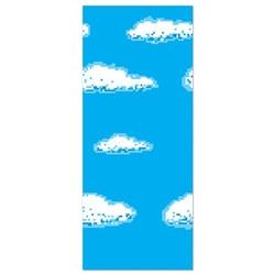 8-bit sky backdrop