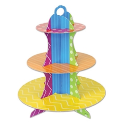 dots & stripes cupcake stand