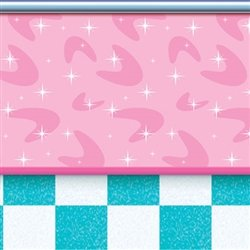 Our 50's Soda Shop Backdrop will get you boppin'
