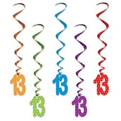 13 whirls