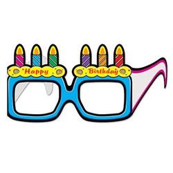 birthday cake eyeglasses