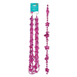 Flamingo & Hibiscus Beads