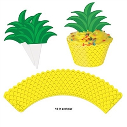 Party like a pinapple with our Pineapple Cupcake Wrappers