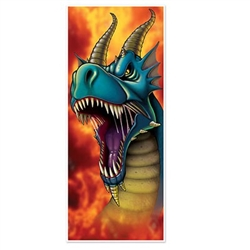 "Your guests won't be 'Dragon"" thier feet to get in when they see this Dragon Door Cover!"