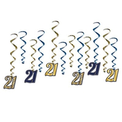 Our '21' Whirls will help you remember your big night, even if you over indulge!