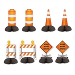 Construction Mini Centerpieces - at PartyCheap, we know how to build a party!