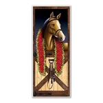 Horse Racing Door Cover