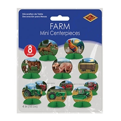 Farm Mini Centerpieces