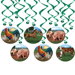 Farm Animal Whirls