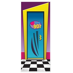 I Love The 90's Door Cover