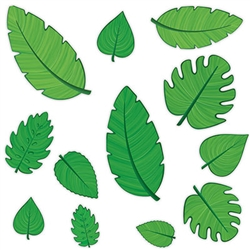 Tropical Leaf Cutouts