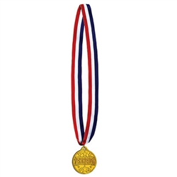 Participation Medal w/Ribbon