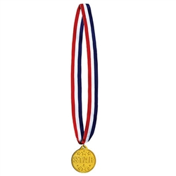 Star Medal w/Ribbon
