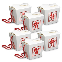 Asian Favor Boxes - Pint