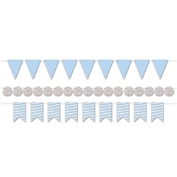 Mini Streamer Kit - Blue & Silver