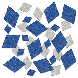 Blue and silver sparkle confetti for your Oktoberfest celebration - a great way to add fun, color and sparkle to your table setting, bar, centerpieces and more!  Great for scrapbooks and memory books as well!  Sold in 0.5 ounce packages.