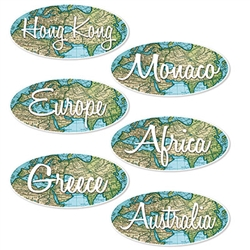 Throw the best Bon Voyage party ever with these Bon Voyage Sign Cutouts.