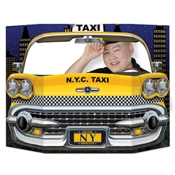 New York City Taxi Photo Prop
