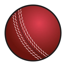 Cricket Ball Cutout